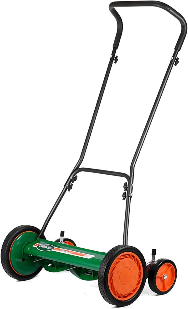 Scotts Outdoor Power Tools 2000-20S 20-Inch 5-Blade Classic Push Reel Lawn Mower, Green - 1