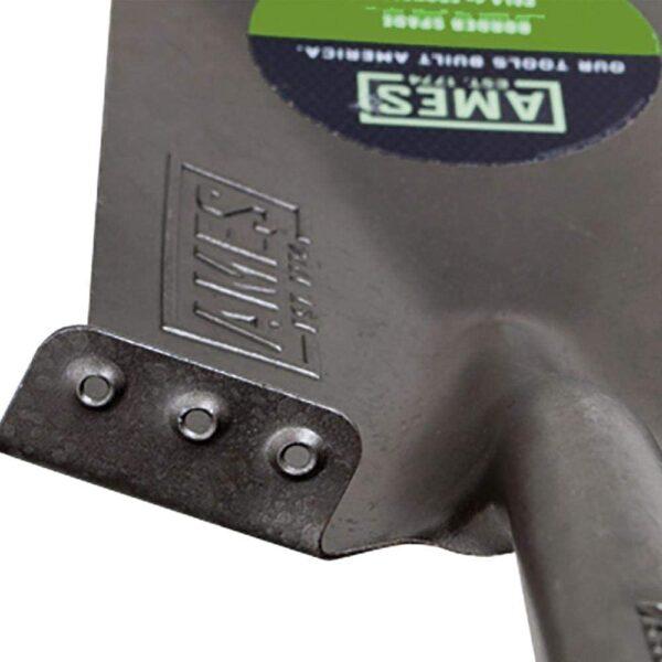 AMES 2535600 Tempered Steel Digging Shovel with Hardwood Handle, 60-Inch - 3