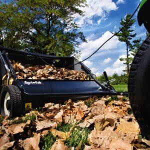 Agri-Fab 45-0320 42-Inch Tow Lawn Sweeper,Black - 2